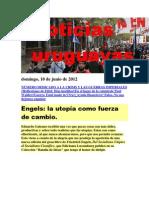 Noticias Uruguayas Domingo 10 de Junio Del 2012