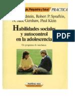 Habilidades Sociales y Autocontrol en Adolescencia
