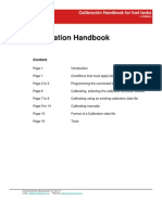 Calibration Handbook