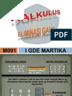 Eliminasi Gauss