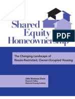 Shared Equity Home