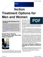 Yeast Infection Treatment Options for Men and Women