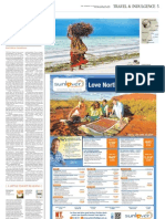 """""""Time and Tides in Mozambique"""" The Weekend Australian, June 2012"""