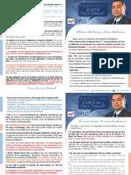 Lettre de Pierre Frébault pour le second tour des législatives