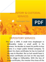 Depository and Custodial Services