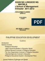 Development Planning- EDUCATION