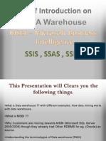 MSBI basics