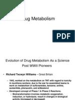 Drug Metabolism 1