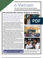 VIA Nho Vietnam Alumni Newsletter (Fall 2007)