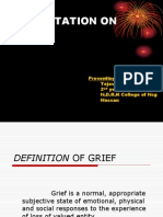 Definition of Grief
