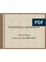 Neurobiology and Behavior