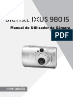 Manual Ixus 980 Is