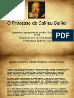 O Processo de Galileu Galilei
