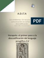 Presentación Los Emblemas.ADITA