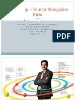 Leadership – Kumar Mangalam Birla joshil