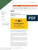 Exposicion de Ion Grigorescu en IED Master IED Madrid