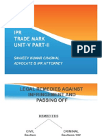 Intellectual Property Law Trademarks Unit-V Part-II [Autosaved]