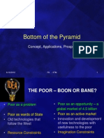 Bottom of the Pyramid