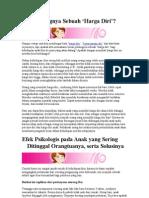 Artikel Perkembangan Psikologis Anak