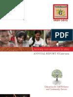 Tugdaan Annual Report 2011-2012