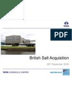 British Salt Acquisition