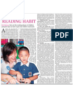 research reading newspaper habits Who knew – literacy and reading habits their review of the research indicates that 15 year-old girls in all 43 countries surveyed are surpassing their male.