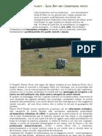 Land Art  per  Emergenza  Rifiuti - Plastic Food Project