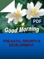 Copy of 002.Pre-natal Growth & Development