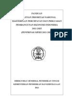 Panduan Penprinas MP3EI 2012