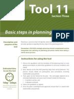 Basic Planning Steps