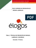 ELOGOS Curso de Tecnico Superior en PRL
