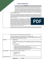 Plan de Comunicación_ampliación de información y modelo
