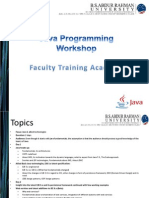 Java Programming Workshop