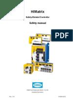 HI 800 023 E HIMatrix Safety Manual