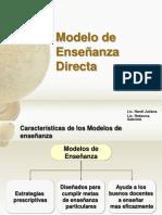 modelodeenseanzadirecta-101008140503-phpapp01