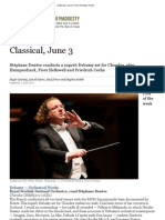 Classical, June 3 _ the Sunday Times