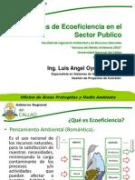 Medidas de Ecoeficiencia en El Sector Publico