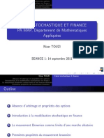 Calcul Stochastique Finance L1
