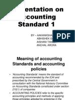 Presentation on Accounting Standard 1
