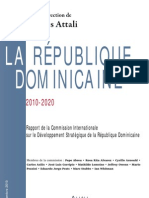 Rapport Sur La Republique Dominicaine, 2010-2020 par Jacques Attali