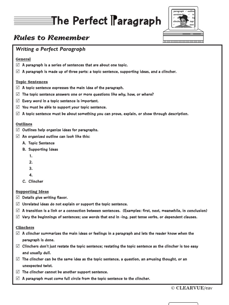 Worksheets Paragraph Worksheets worksheet topic sentences worksheets mytourvn study site 2012 perfect paragraph workbook grammar