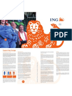 The ING story. Supporting orange.