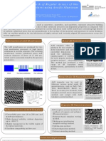 Template-Assisted Growth of Regular Arrays of One Dimensional Nanostructures Using Anodic Aluminum Oxide Membranes Poster
