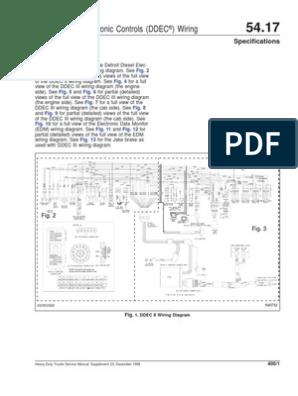 ddec ii and iii wiring diagrams diesel engine truck detroit series 60 barometric pressure sensor location ddec 3 ecm wiring diagram wiring diagram