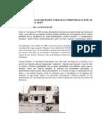 CASOS DE DESAPARICIONES FORZADAS PERPETRADAS POR EL GOBIERNO DEL PERÚ