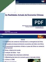 As Realidades Actuais Da Economia Chinesa - Mira Amaral