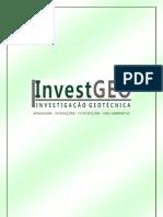 APRESENTAÇÃO - INVESTGEO INVESTIGAÇÃO GEOTÉCNICA