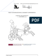 First International Chariot Conference Abstracts. PJAEE 9-2-2012