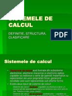 3. Sistemele de Calcul
