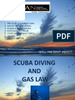 Scuba Diving and Gas Law